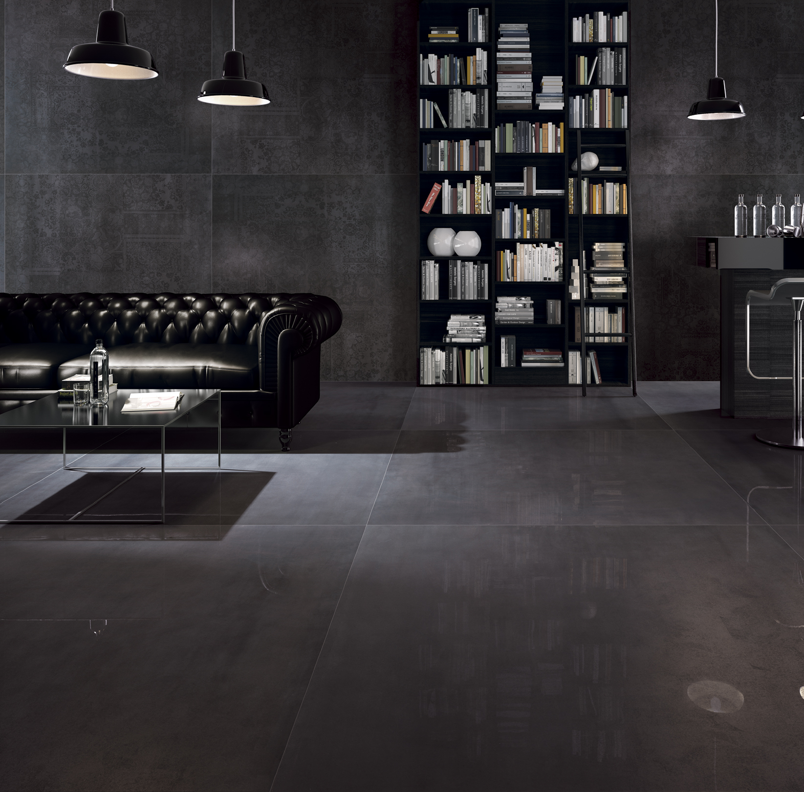 porcelain tile example: Iconic range high resolution photo