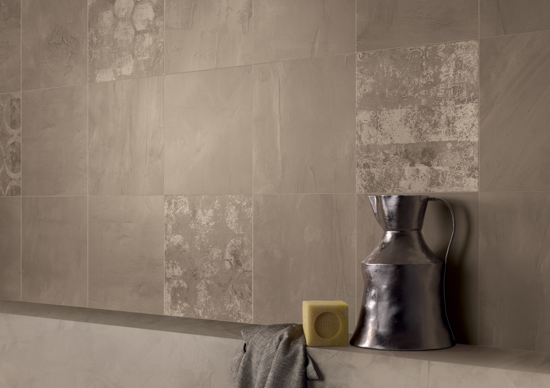porcelain tile example: Beton Sense range high resolution photo