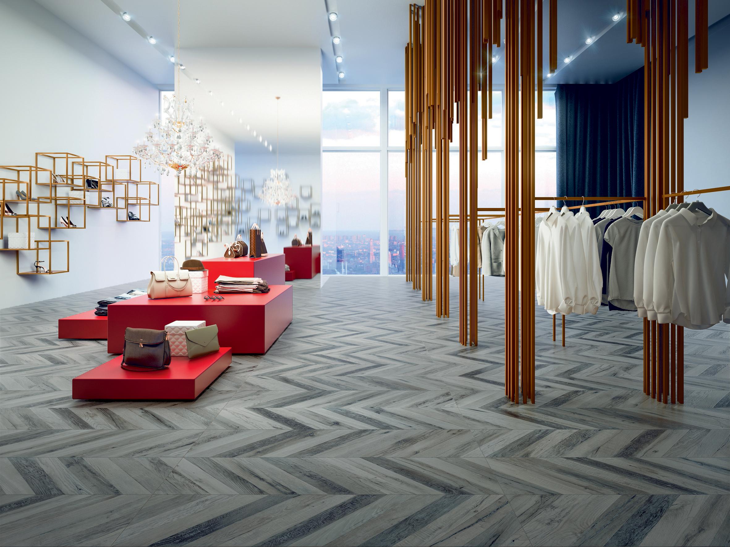 porcelain tile images: Lignum range high quality photo
