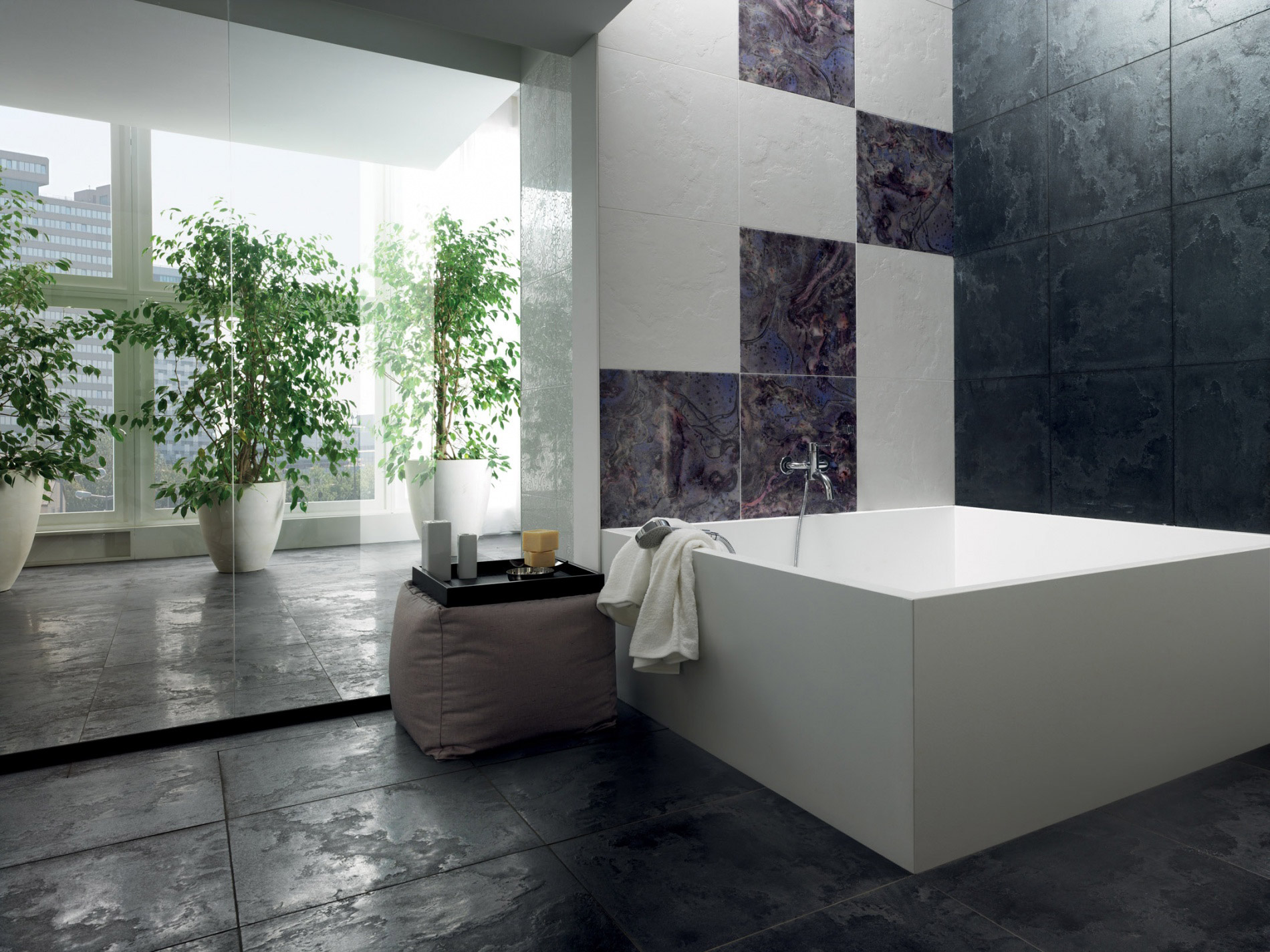 Welcome to the enigma metallic effect range of porcelain tiles - Piastrelle pietra lavica ...