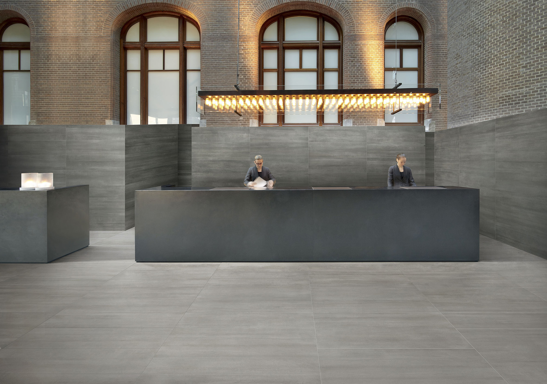 porcelain tile example: Rock Sense range high resolution photo