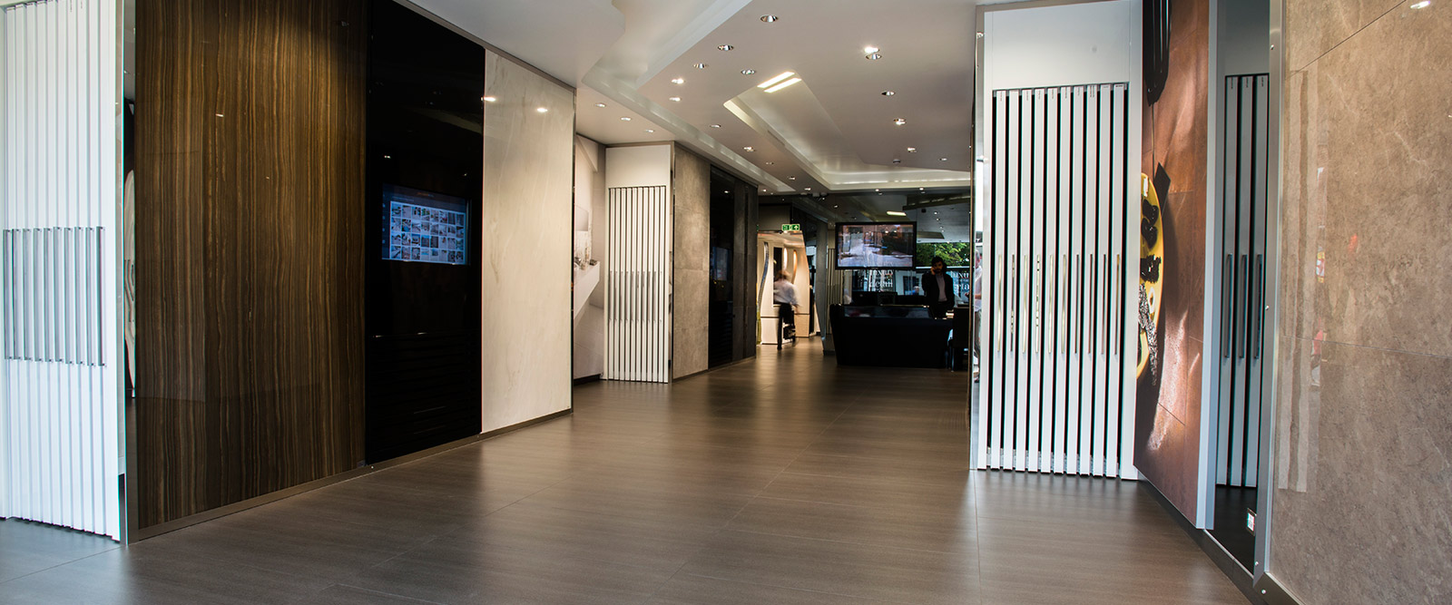 For a stunning range of innovative and exciting porcelain - Interior design tiles showroom ...