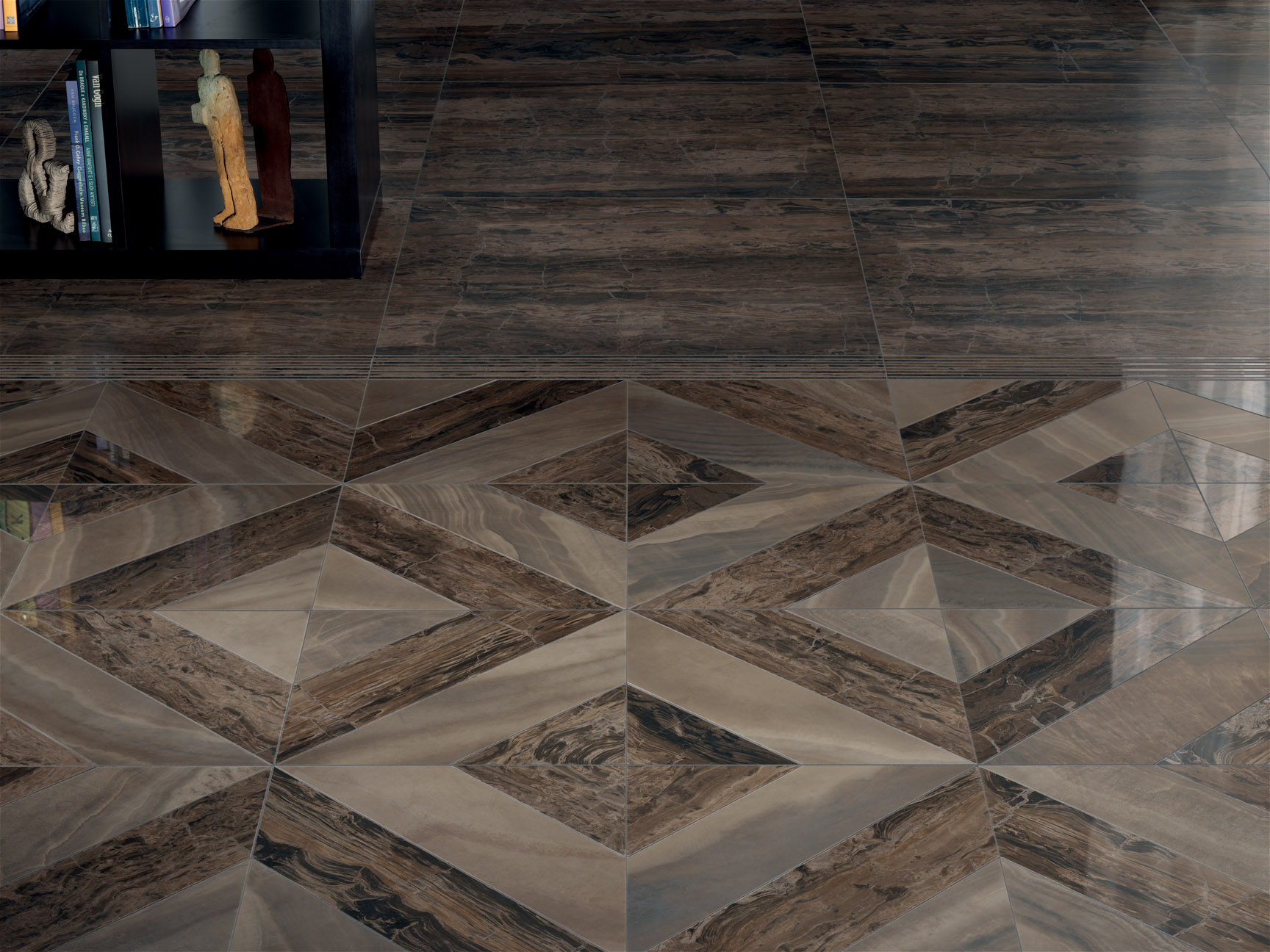 porcelain tile example: Charisma range high resolution photo