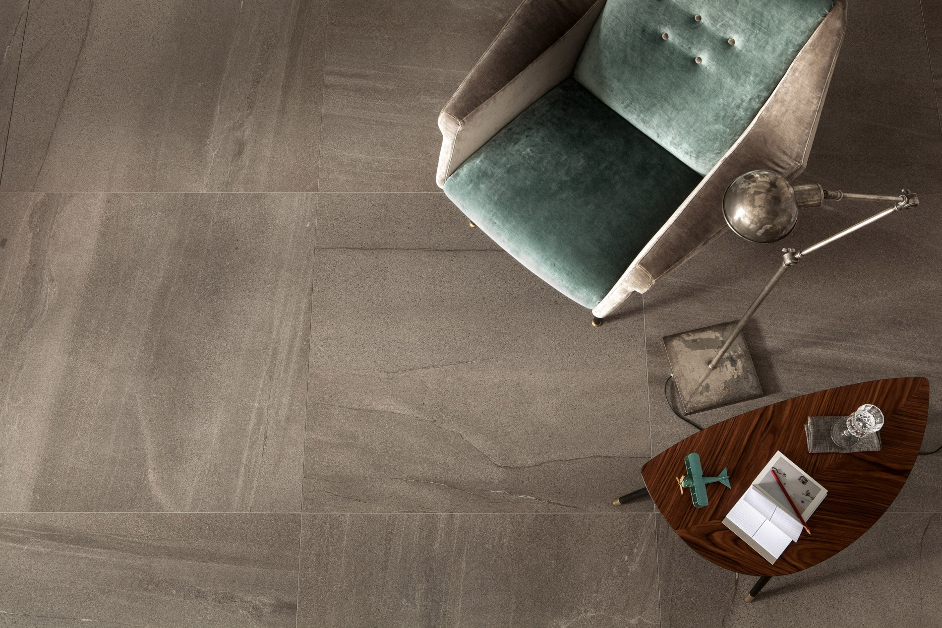 porcelain tile example: Basalt range high resolution photo