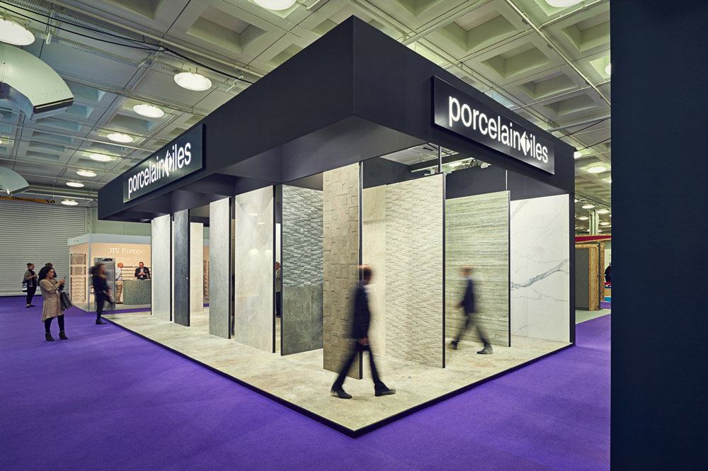 Porcelain Tiles photos from the 100% Design, Olympia 2015