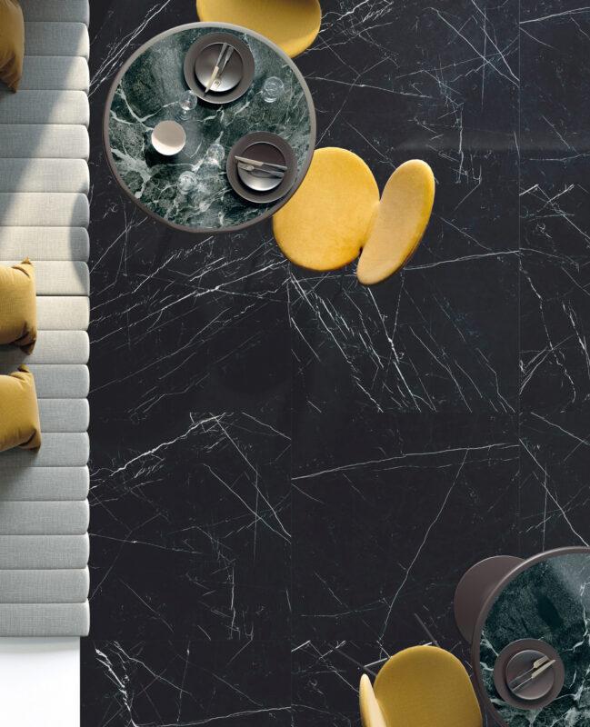 Grandi Marmi – Nero Marquina & Casa Dei Marmi – Saint Denis Verde 20203