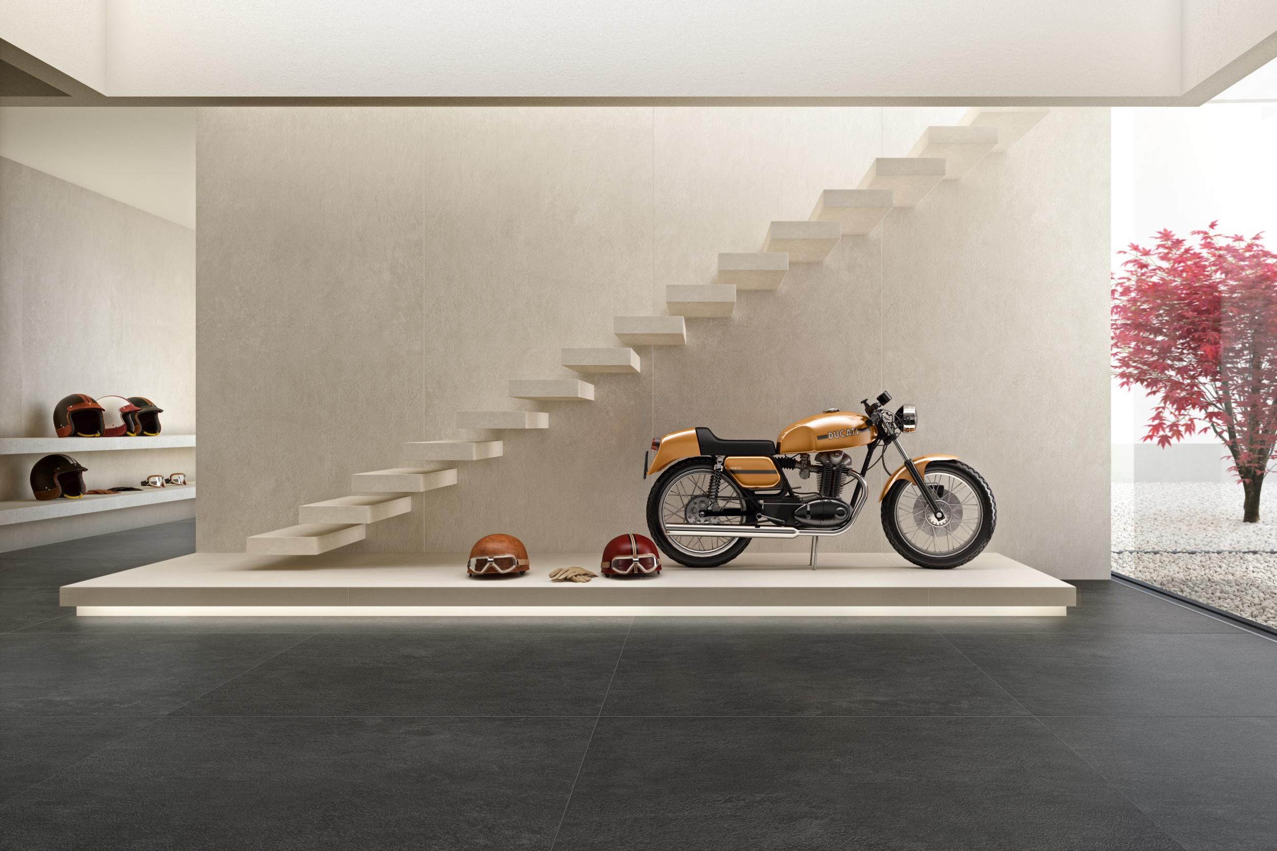 porcelain tile images: Docks range high quality photo