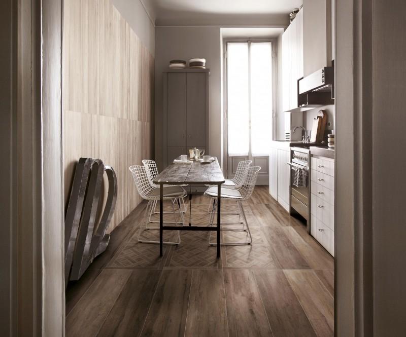 Timber – Walnut, Sand and Cassettone Decor