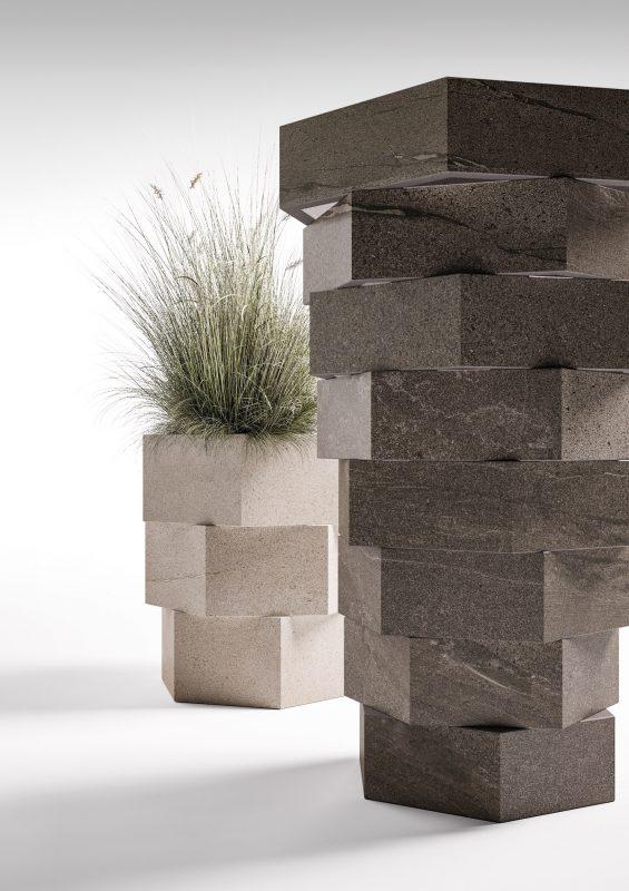 Basalt Stone – Sand and Moka Basalt (Photo ID: 12290)
