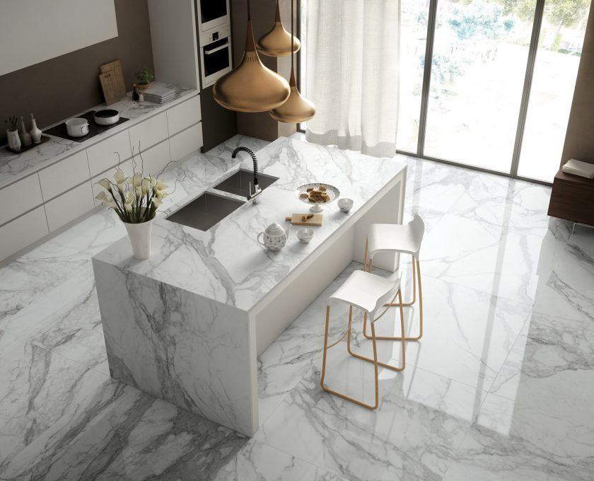 Marble Effect Porcelain Tiles From Our Italian Collection