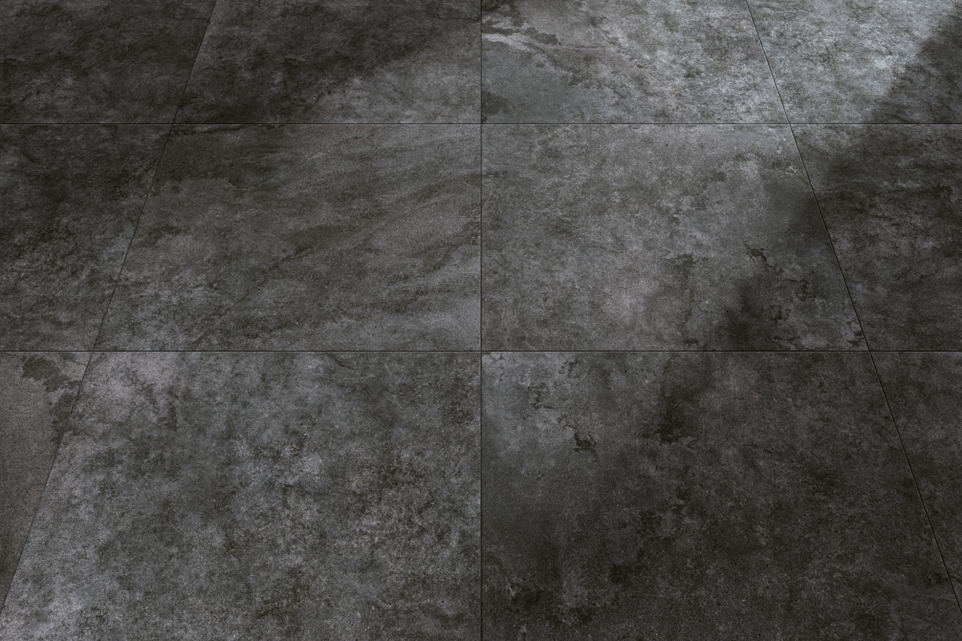 Charcoal Structured Porcelain Tile From Our Depth 6mm