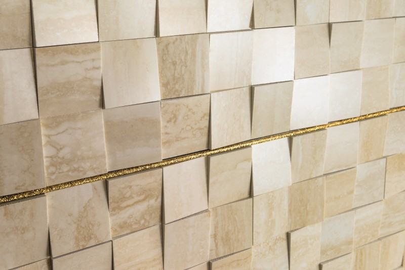 Corona – Travertine Mosaic 7553