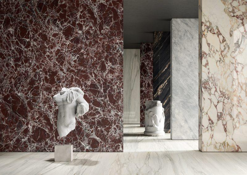 Rosso Levanto, Cremo Calacatta & Breche Capraia 22141