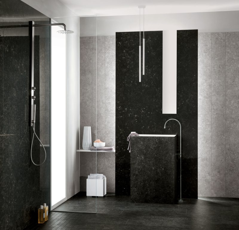 Dolomites – Angola Black and Jura Grey