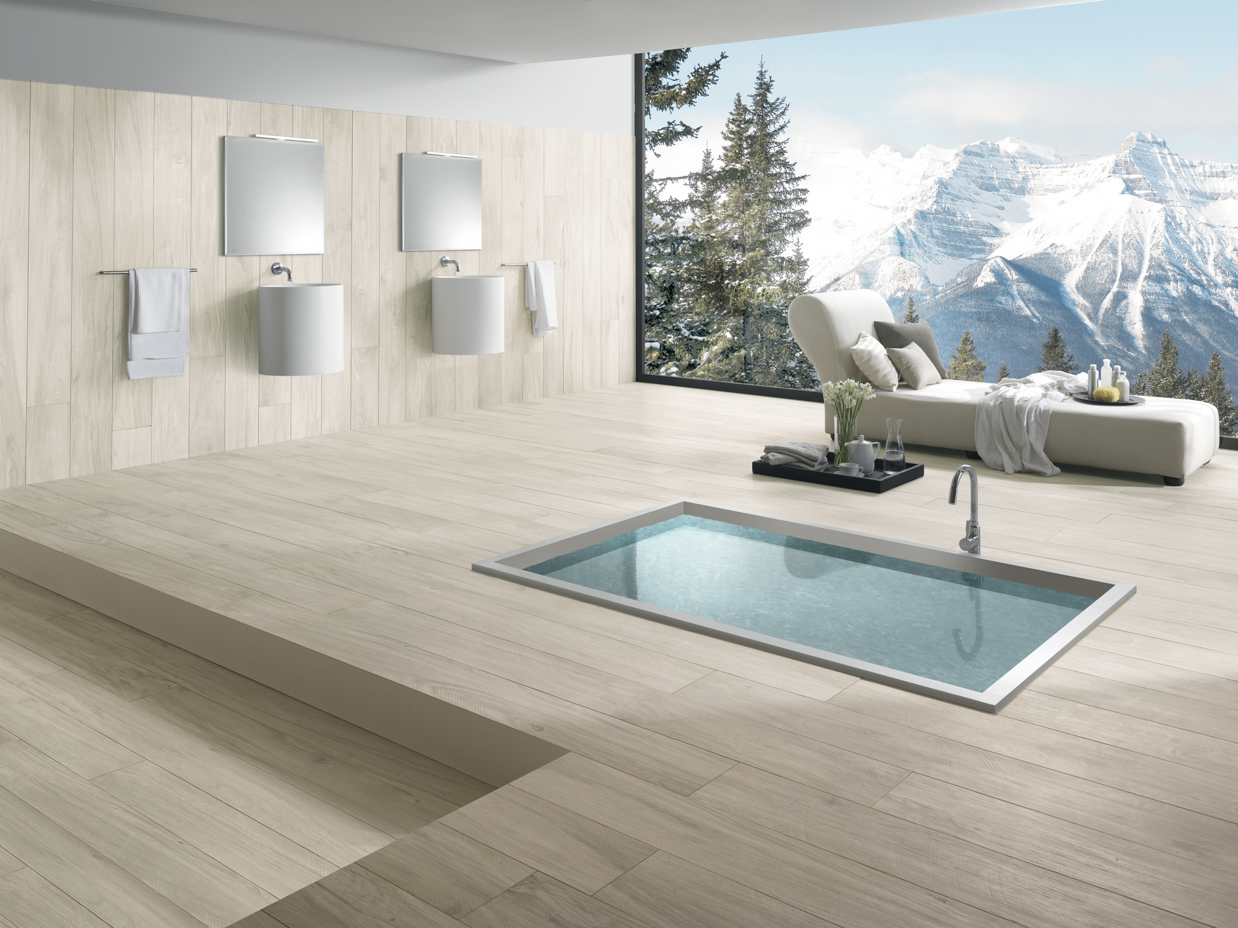 introducing essenza a new wood effect porcelain tile from italy