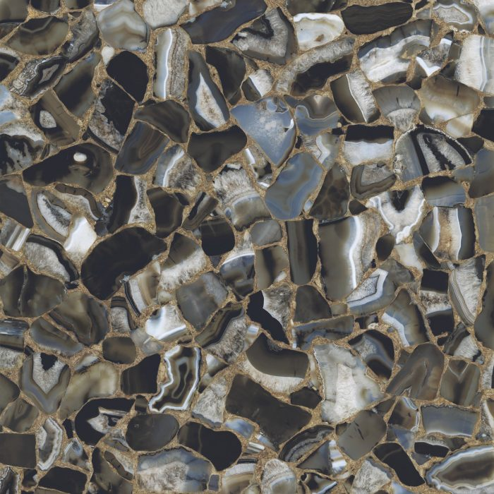 Gem Stone - Agate Nero – Polished