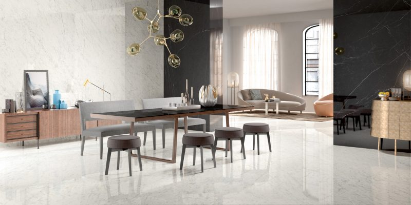 Grandi Marmi – Carrara Elite & Nero Marquina 16072