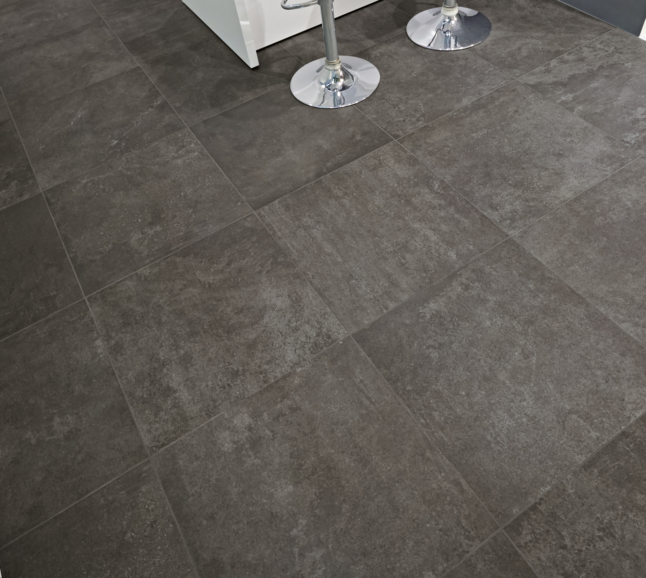 Graphite Natural Porcelain Tile From Our Heritage Tile