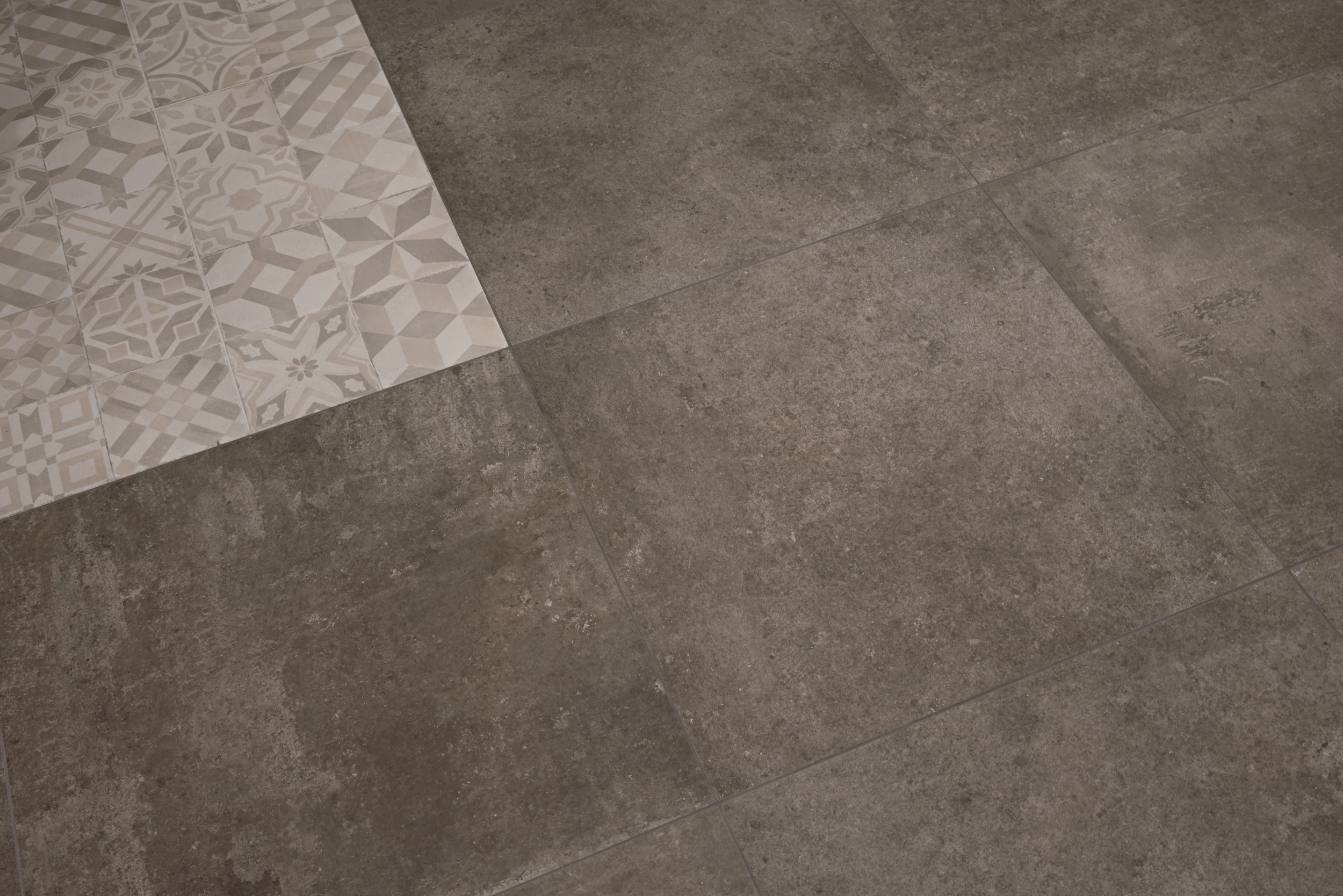 Mix Cold Natural Porcelain Tile From Our Heritage Tile