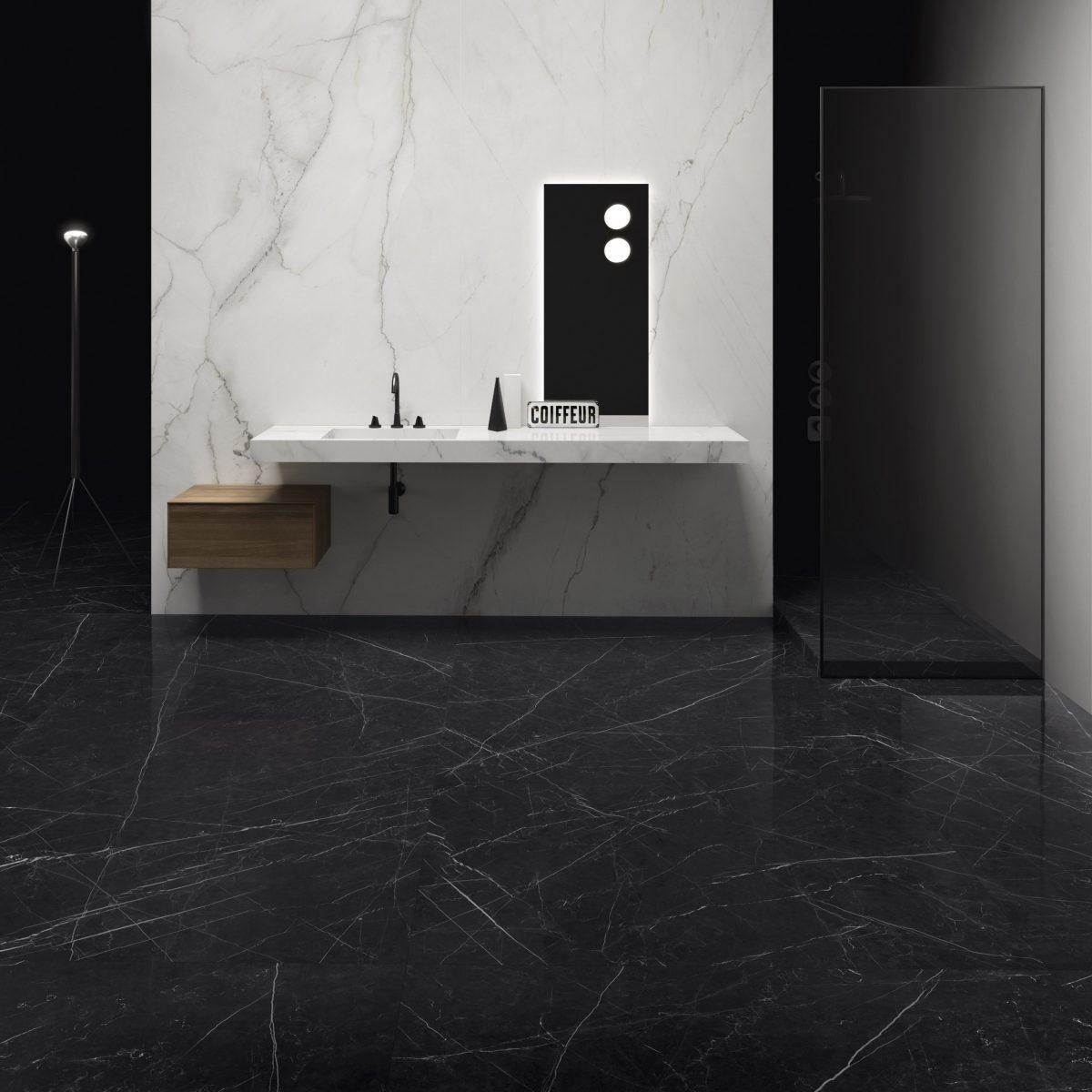 Majestic – Bianco Carrara & Grandi Marmi – Nero Marquina