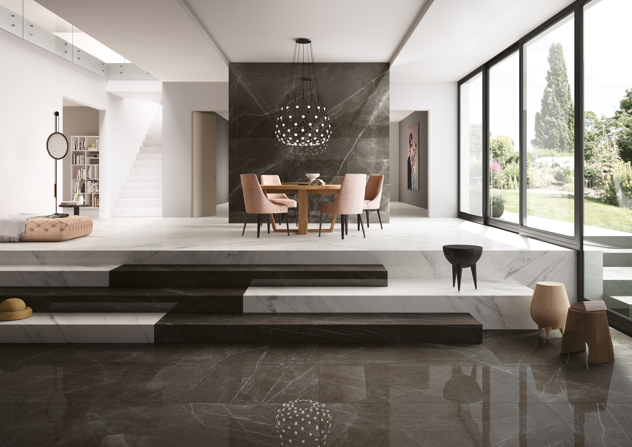 porcelain tile images: Grandi Marmi range high quality photo