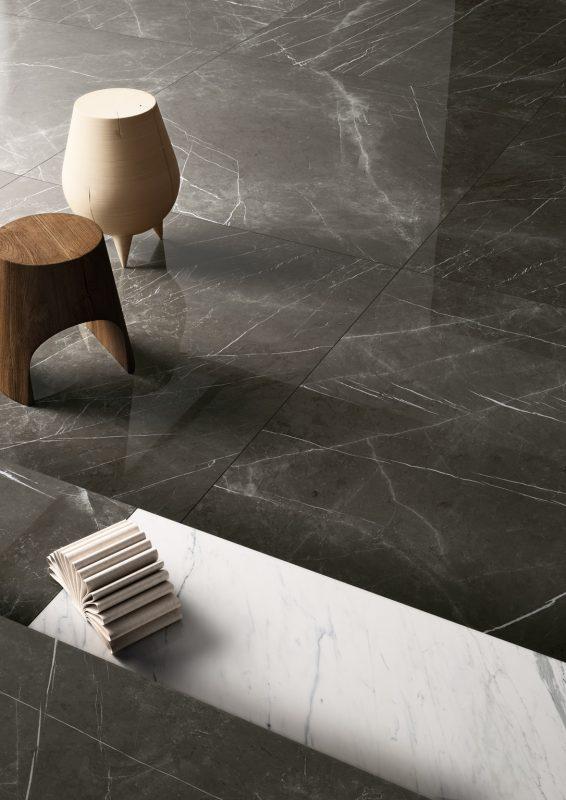 Grandi Marmi – Negresco & Bianco Elegante 11494