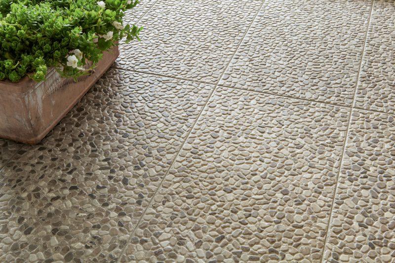 Portland – Nero-Grigio-Terra Pebbles 8569