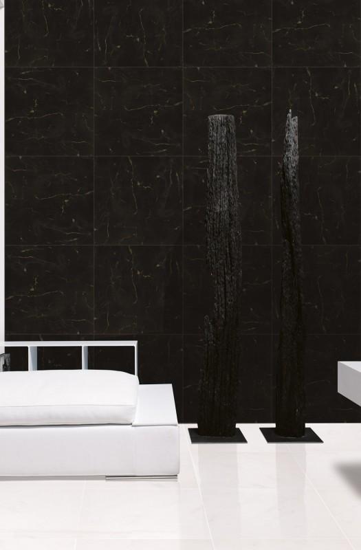 Classico – Calacatta and Obsidian Black 1591