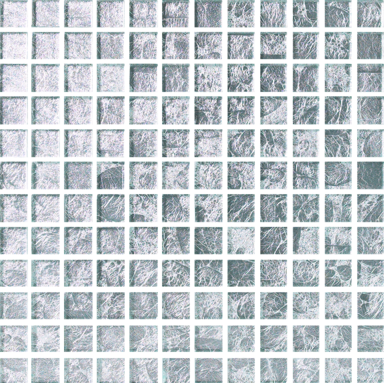 Silver Small Glass Porcelain Tile From Our Exquisite