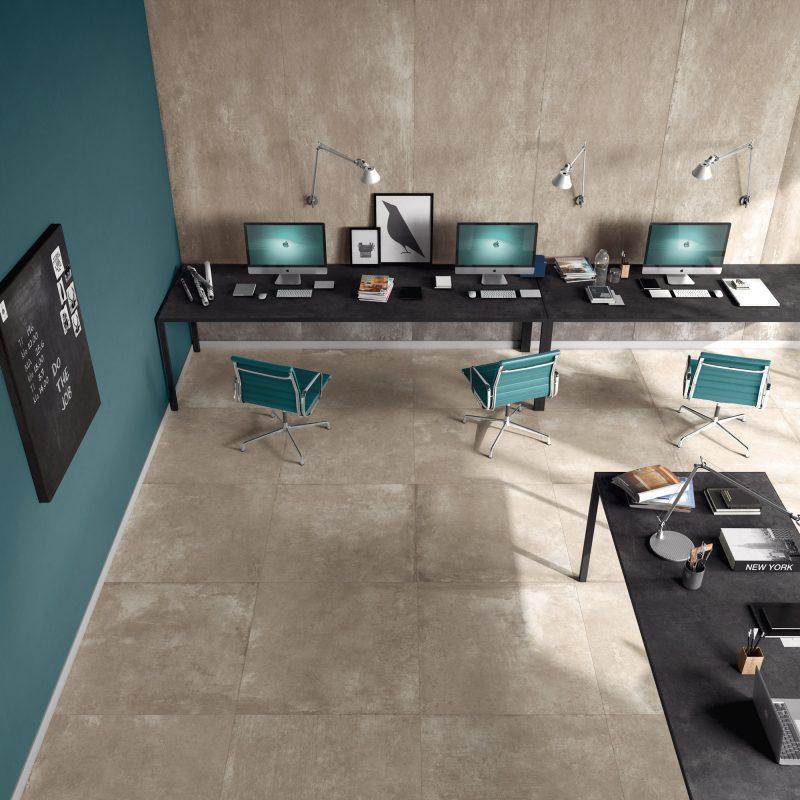 Calma – Caramello with Inchiostro desk 13294