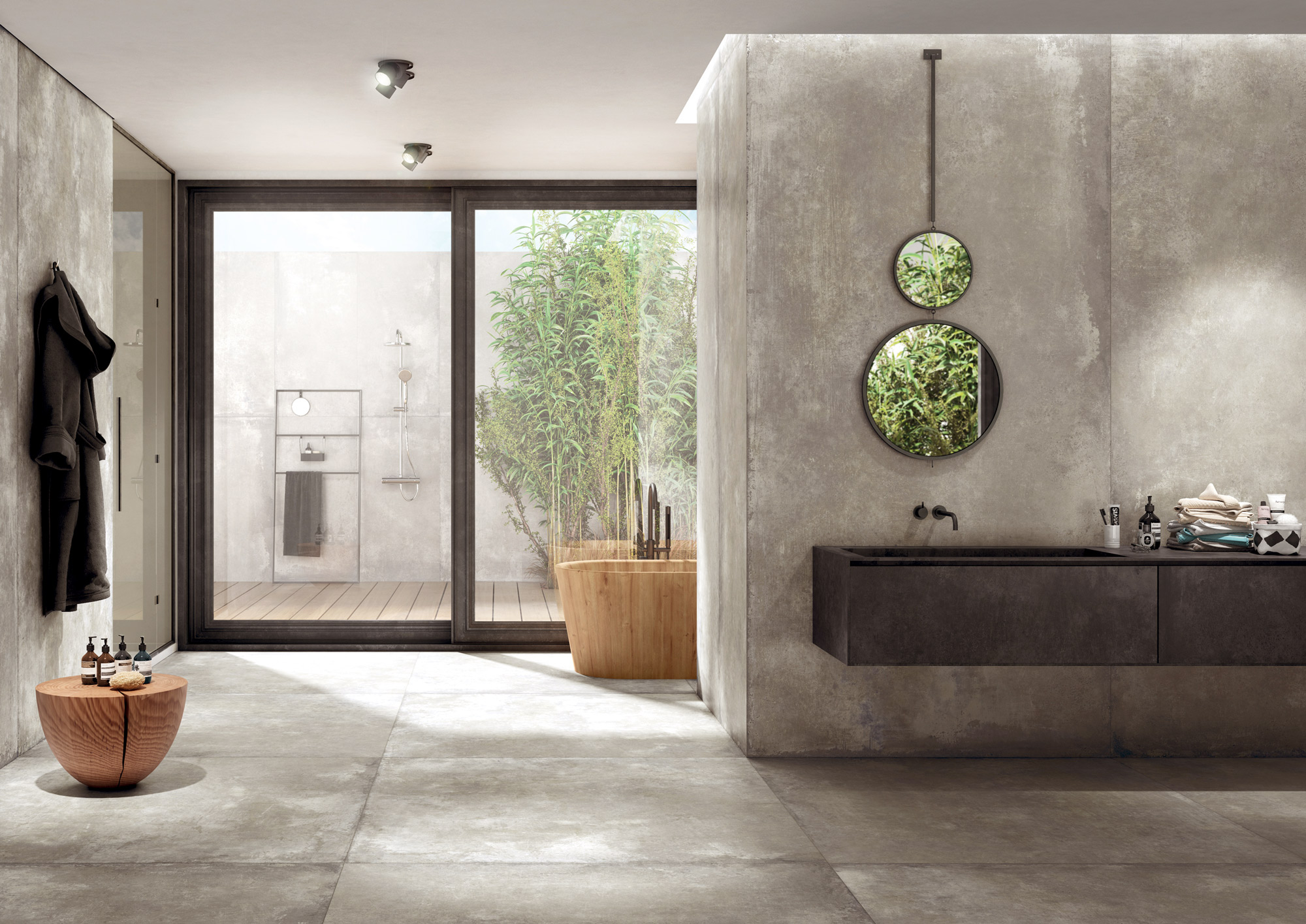 porcelain tile images: Calma range high quality photo