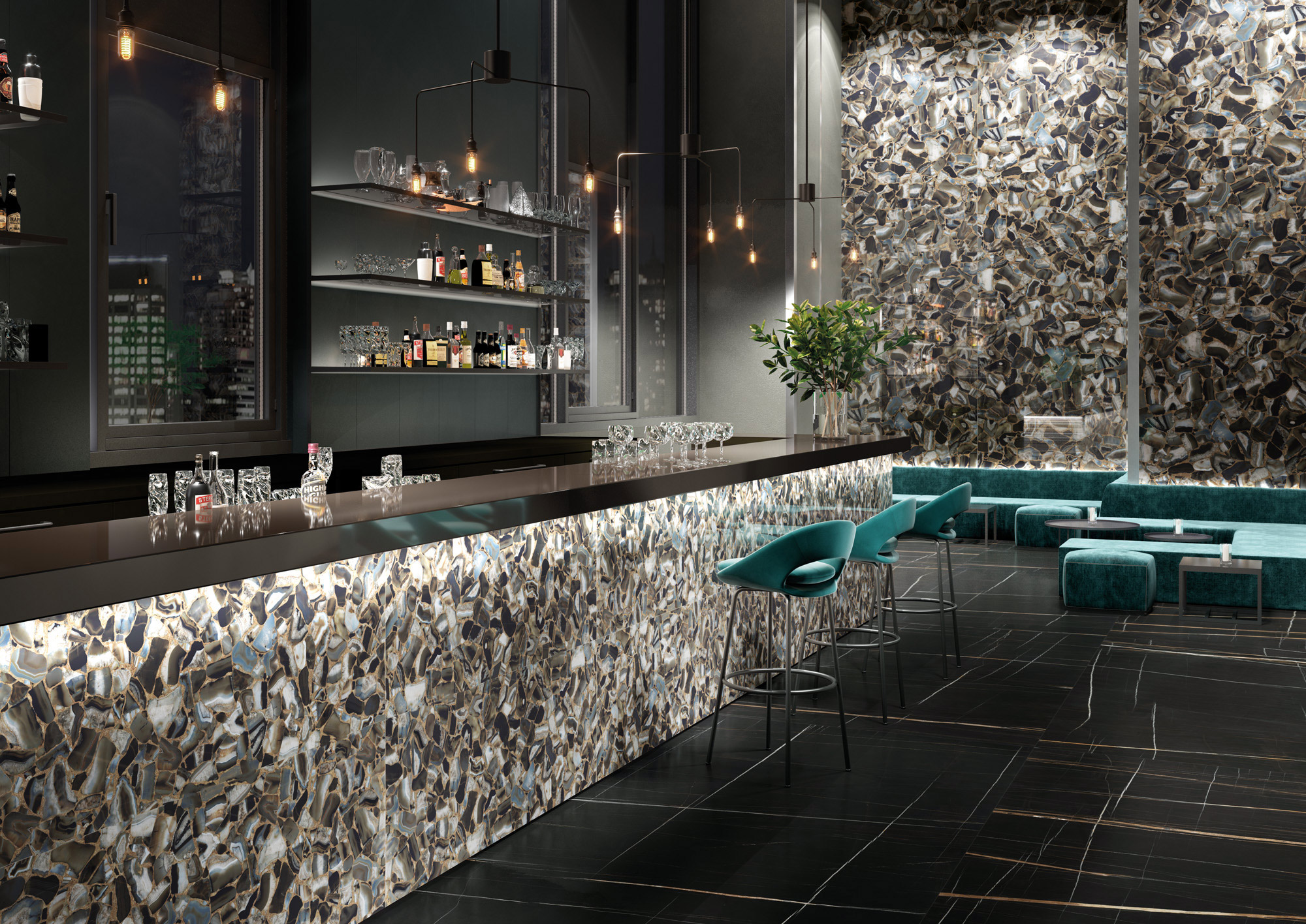 porcelain tile images: Gem Stone range high quality photo