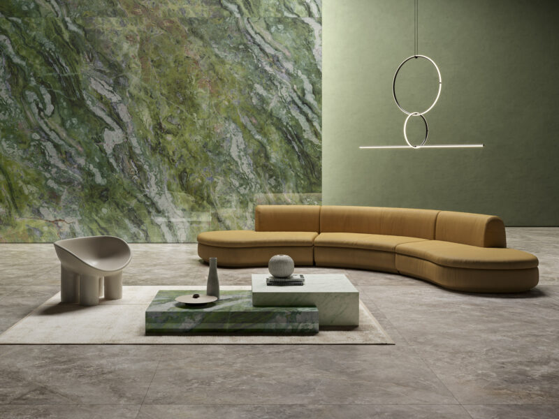 Majestic – Etruscan Grey & Casa Dei Marmi – Irish Green 20146