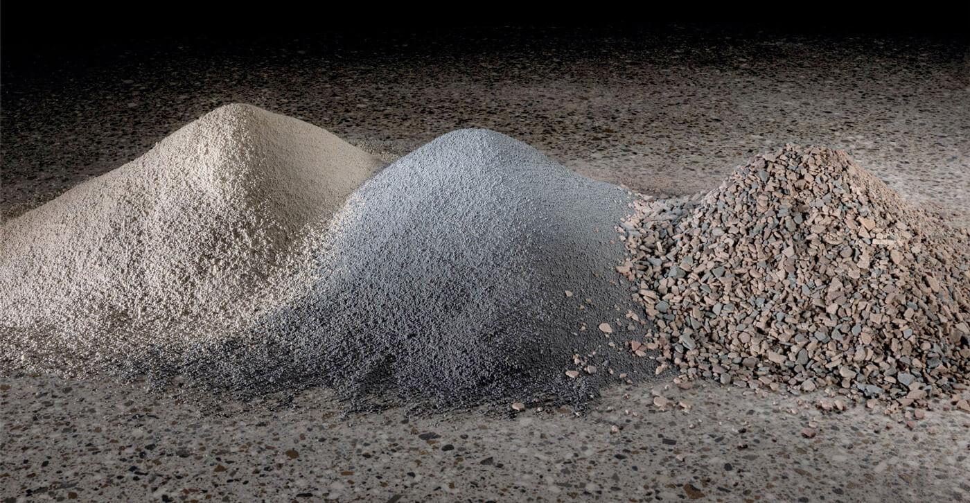 Fragments, Minerals & Flecks