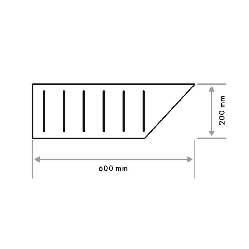 Pool Grid Left Corner 20mm (G02)