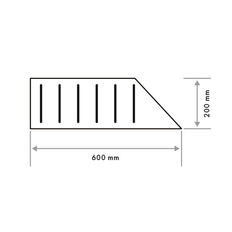 Pool Grid Right Corner 20mm (G03)