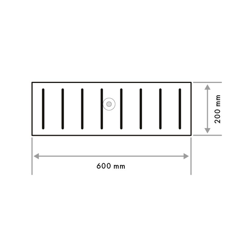 Pool Grid Straight Edge 20 mm (G01)