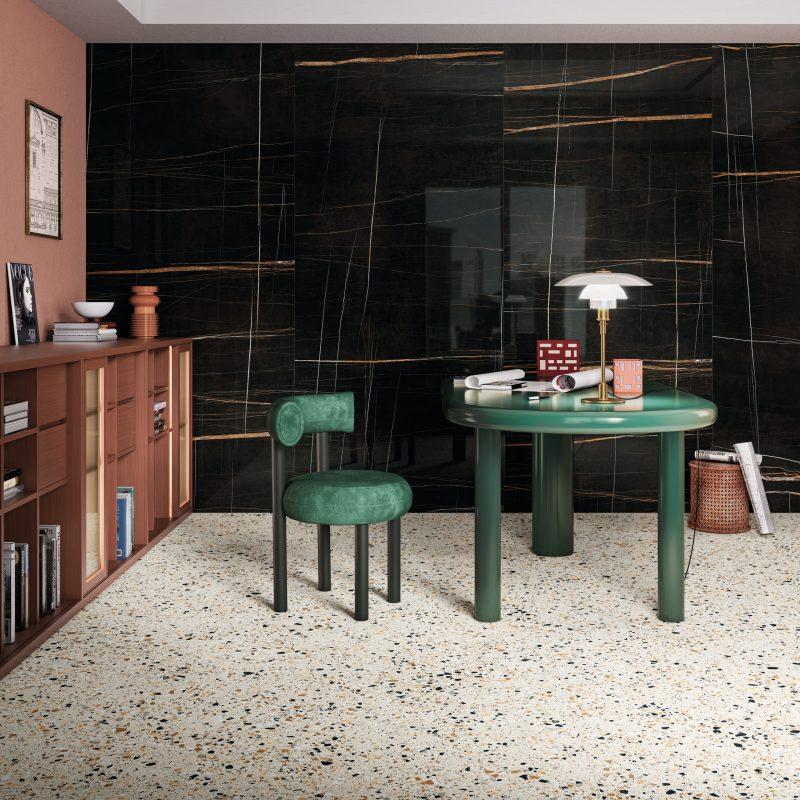 Diverso – Venice Ivory & Grandi Marmi – Sahara Black 21834