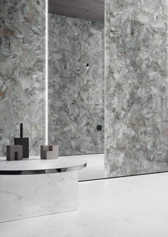 Marvel – Smoky Quartz & Casa Dei Marmi – Delicato Bianco 20052